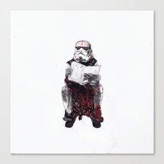 Stormpooper Canvas Print