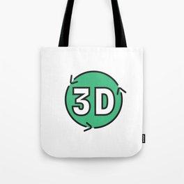 R3D Logo Tote Bag