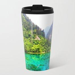 ANCIENT GLORY // Five Flower Lake, Jiuzhaigou Travel Mug