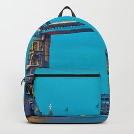 London Tower Bridge Lights (Color) Backpack
