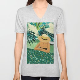 Chill #illustration #travel Unisex V-Neck