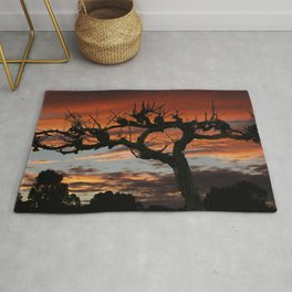 The Vines in Winter Rug