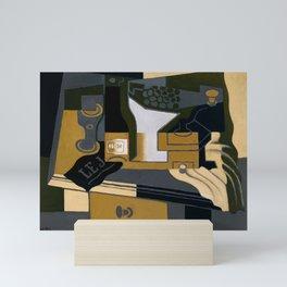 """Juan Gris """"Le moulin à café (Coffee Grinder)"""" Mini Art Print"""