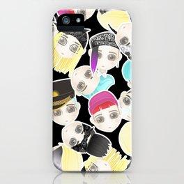 BIGBANG Collage (Black) iPhone Case