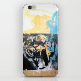 YAWNING TIGERS iPhone Skin