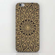 Delicate Golds iPhone & iPod Skin
