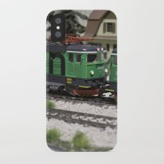 Green Cargo iPhone X Slim Case