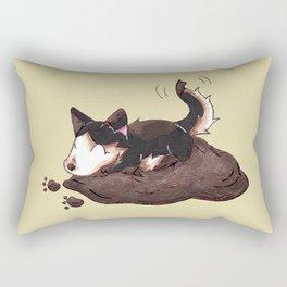 Mud Puppy Rectangular Pillow