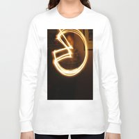 pacman Long Sleeve T-shirts featuring Pacman by Audrey's Photography