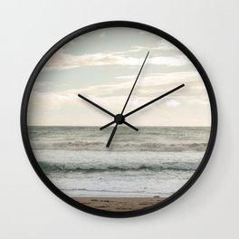 Agios Gordios beach at Corfu island, Greece Wall Clock