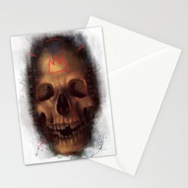 The Smiling Skull of the Death King Stationery Cards