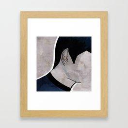 Humans make illogical decisions Framed Art Print