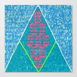 diam-IN-d Canvas Print