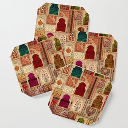 Medley of Rugs Coaster