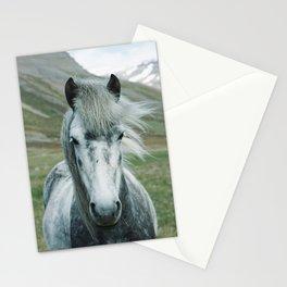 horse by Oscar Nilsson Stationery Cards