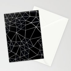 Segment Zoom Black and White Stationery Cards