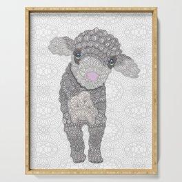 Little Lamb Serving Tray