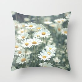 Daisy Chain Throw Pillow