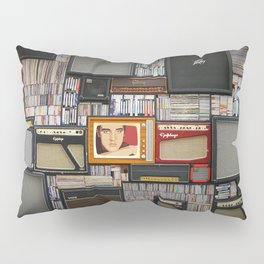 Vinyl records Pillow Sham