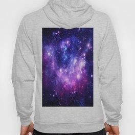 Purple Blue Galaxy Nebula Hoody