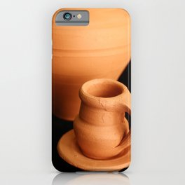 Small pottery items iPhone Case