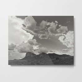 Guadalupe Mountains Metal Print
