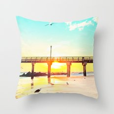 Boardwalk Throw Pillow