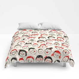 Silly Faces Comforters