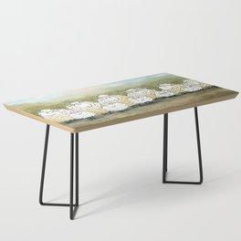 Lambinated Coffee Table