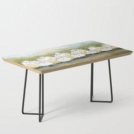 Lambinated Coffee Table