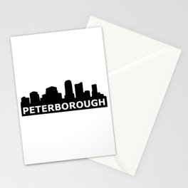 Peterborough Skyline Stationery Cards