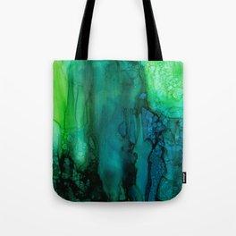Drifting Underwater Tote Bag