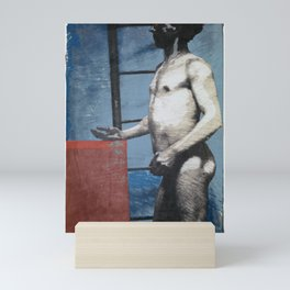 Appropriation of Standing Male Nude ca. 1856 Artist: Unknown Mini Art Print