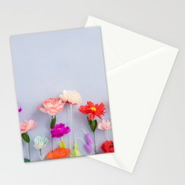 Handmade paper flowers Stationery Cards