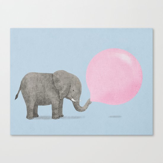 Jumbo Bubble II Canvas Print