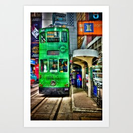 Ding Ding Cable Car Art Print
