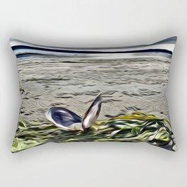 Beach Clam Rectangular Pillow