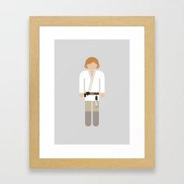 Luke 03 Framed Art Print