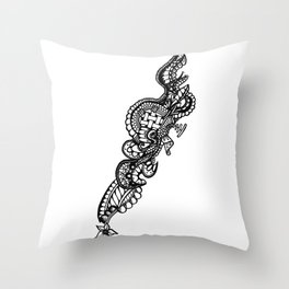 Abstract Drawing Throw Pillow