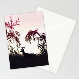 Silhouette Game Strong Stationery Cards