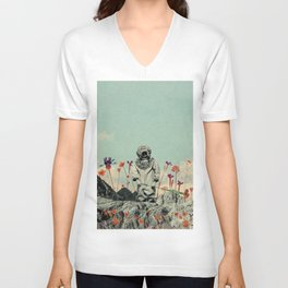 Lonely Diver Unisex V-Neck