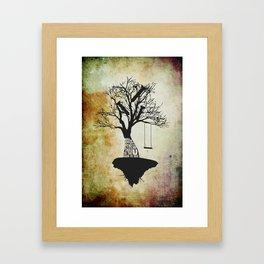 When The Wind Blows. Framed Art Print
