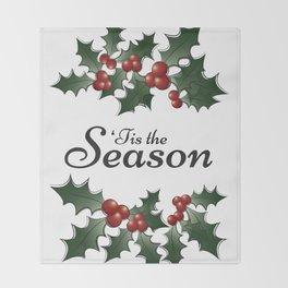 'Tis the Season Throw Blanket