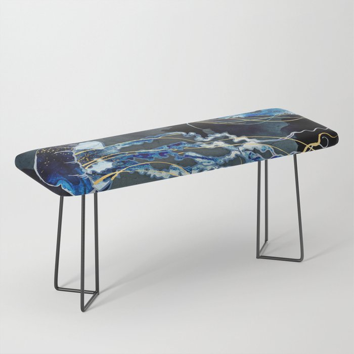 Metallic Ocean III Bench