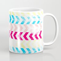 arrow Mugs featuring Arrow by Louise Machado