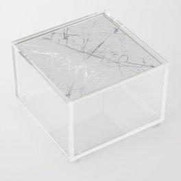 Silver Splatter 089 Acrylic Box