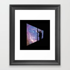 Stare Into Everything Framed Art Print