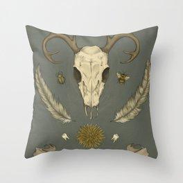 Natural Symmetry Throw Pillow