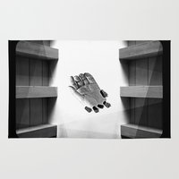 calendars Area & Throw Rugs featuring Calendars for Analytics by mofart photomontages