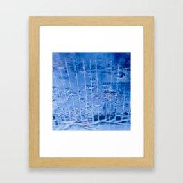 Upside Down Water Framed Art Print